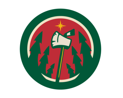 Minnesota Wild Logo Colouring Pages page 2